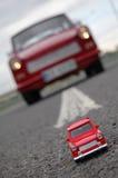 Giocattolo Trabant Fotografia Stock