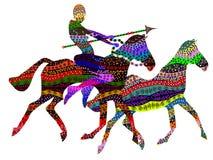 Giochi africani Immagini Stock