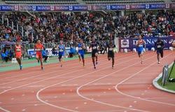 Giochi all'aperto internazionali di DecaNation il 13 settembre 2015 a Parigi, Francia Fotografie Stock