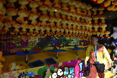 Giochi campo da giuoco, parco Hong Kong dell'oceano Fotografia Stock