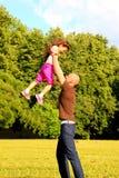 Giochi con i bambini Fotografie Stock