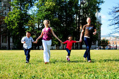 Giochi con i bambini Immagini Stock Libere da Diritti