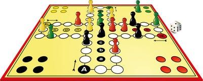 Giochi da tavolo illustrazione vettoriale