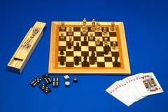 Giochi da tavolo Fotografia Stock Libera da Diritti