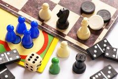 Giochi da tavolo Fotografie Stock Libere da Diritti