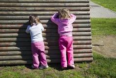 Giochi dei bambini Fotografia Stock