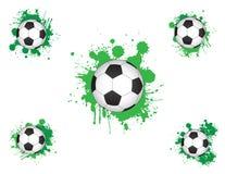 Giochi del calcio Fotografie Stock