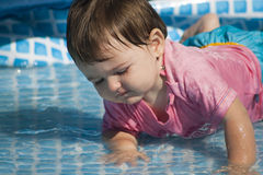 Giochi dell'acqua Fotografia Stock Libera da Diritti