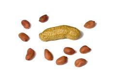 Giochi delle arachidi Fotografia Stock Libera da Diritti