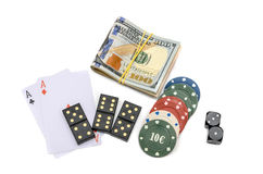 Giochi di azzardo Immagini Stock