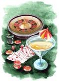 Giochi di azzardo Fotografie Stock