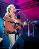 Giochi di Damien Rice del musicista al festival Fotografia Stock Libera da Diritti