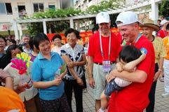 Giochi di estate del mondo di Giochi Paraolimpici Fotografia Stock