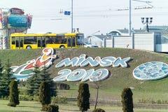 Giochi europei dei giochi olimpici secondi immagine stock libera da diritti