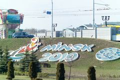 Giochi europei dei giochi olimpici secondi immagini stock libere da diritti