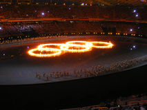 Giochi Olimpici Estivi 2004 di Atene Fotografie Stock Libere da Diritti