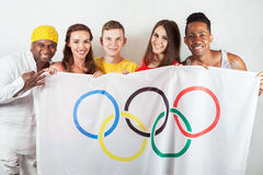 Giochi Olimpici Rio de Janeiro Brasile 2016 Fotografia Stock Libera da Diritti