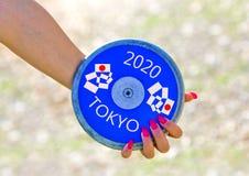 Giochi olimpici a Tokyo nel 2020 Fotografia Stock Libera da Diritti