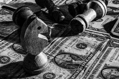 Giochi politici - potenza mondiale vita di affari fotografia stock libera da diritti