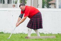Giochi scozzesi dell'altopiano Fotografia Stock