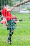 Giochi scozzesi dell'altopiano Fotografie Stock