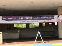 2017 giochi senior nazionali Fotografia Stock