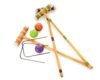 Giochiamo il croquet Immagini Stock