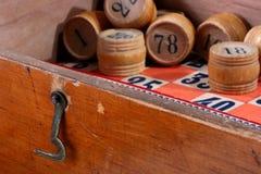Gioco antico di un lotto Fotografia Stock Libera da Diritti