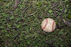 Gioco aspettante di baseball consumato fotografie stock libere da diritti