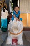 Gioco birmano dei bambini Fotografia Stock Libera da Diritti