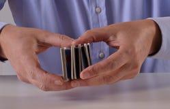 Gioco cards Fotografia Stock