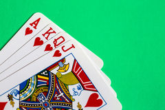 Gioco cards Immagini Stock