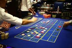 Gioco classico delle roulette Fotografia Stock