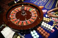 Gioco classico delle roulette Fotografia Stock Libera da Diritti