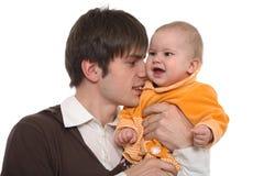 Gioco con il bambino Immagine Stock Libera da Diritti