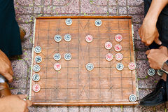 Gioco da tavolo asiatico Fotografia Stock