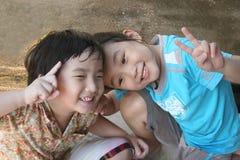 Gioco dei bambini Fotografia Stock