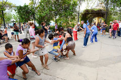 Gioco dei bambini della scuola elementare Fotografia Stock Libera da Diritti