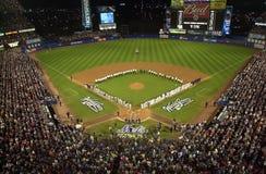Gioco 3 dei 2000 campionati di baseball Fotografie Stock