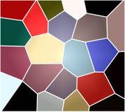 Gioco dei colori Astrazione dei colori Illustrazione, fondo illustrazione di stock