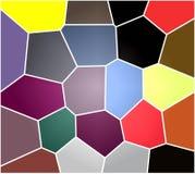 Gioco dei colori Astrazione dei colori Illustrazione, fondo royalty illustrazione gratis