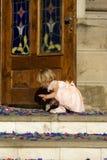Gioco del bambino Fotografie Stock