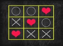 Gioco del bue (con cuore) Fotografia Stock Libera da Diritti