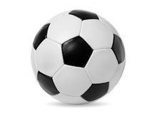 Gioco del calcio fotografie stock