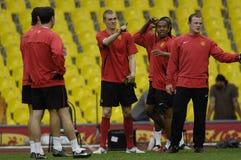 Gioco del calcio 2009 migliore 30Players - Wayne Rooney della Francia Fotografie Stock Libere da Diritti