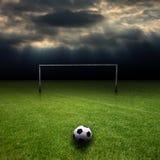 Gioco del calcio 4 Fotografie Stock