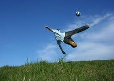 Gioco del calcio Immagine Stock