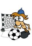 gioco del calcio Immagine Stock Libera da Diritti