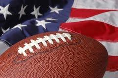 Gioco del calcio in America immagini stock