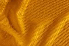Gioco del calcio arancione Jersey Fotografia Stock